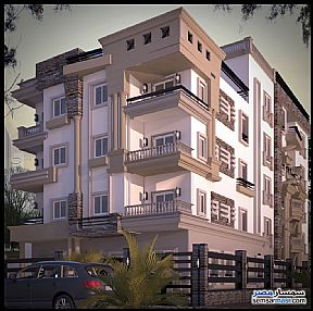 Apartment 3 bedrooms 3 baths 320 sqm semi finished For Sale Shorouk City Cairo - 1