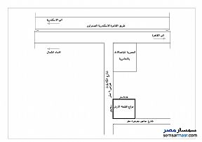 Ad Photo: Land 520 sqm in Amereyah  Alexandira