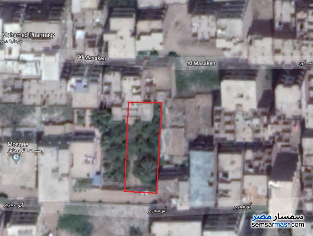 Photo 1 - Land 595 sqm For Sale Hihya Sharqia