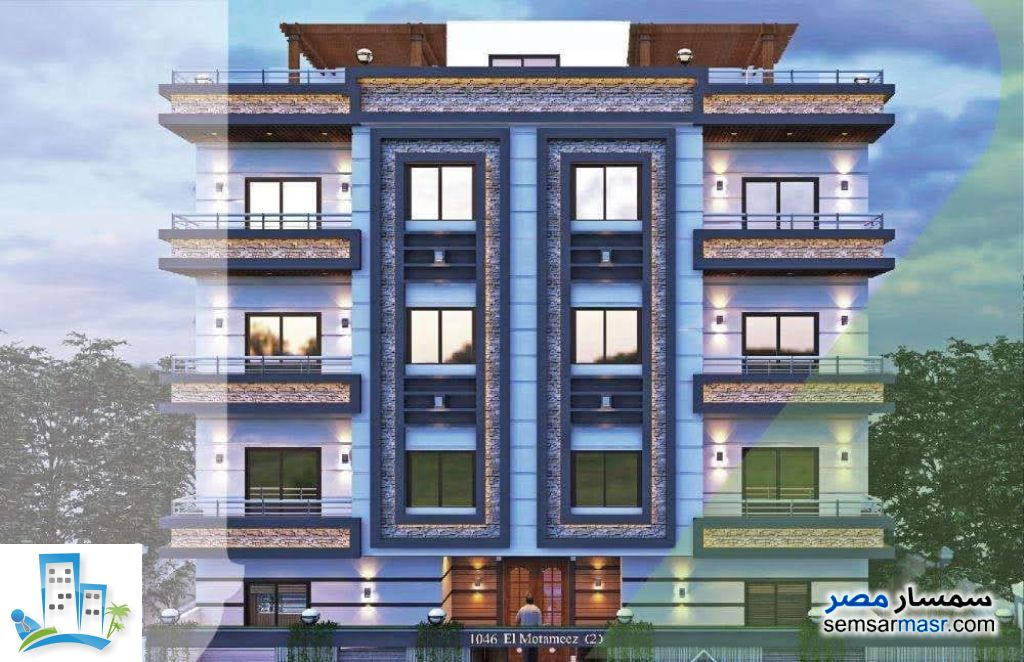 Ad Photo: Apartment 3 bedrooms 2 baths 150 sqm without finish in October Gardens  6th of October