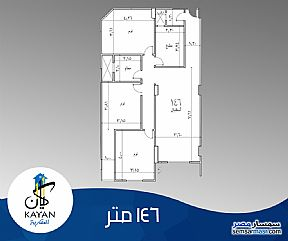 Ad Photo: Apartment 3 bedrooms 2 baths 146 sqm semi finished in Hadayek Al Ahram  Giza