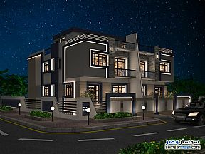 Ad Photo: Villa 6 bedrooms 5 baths 451 sqm semi finished in Mukhabarat Land  6th of October