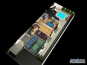 Ad Photo: Villa 5 bedrooms 4 baths 440 sqm semi finished in Mukhabarat Land  6th of October