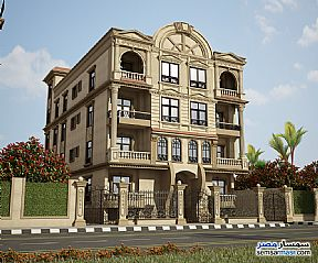 Ad Photo: Apartment 3 bedrooms 2 baths 160 sqm semi finished in North Extensions  6th of October