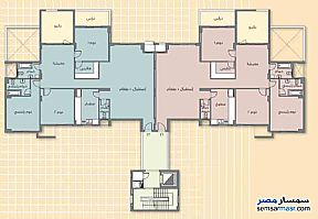 Apartment 3 bedrooms 3 baths 337 sqm extra super lux For Sale Madinaty Cairo - 11