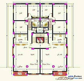 Ad Photo: Apartment 3 bedrooms 2 baths 180 sqm semi finished in Zagazig  Sharqia