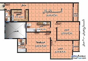 Ad Photo: Apartment 3 bedrooms 2 baths 150 sqm without finish in Zeitoun  Cairo