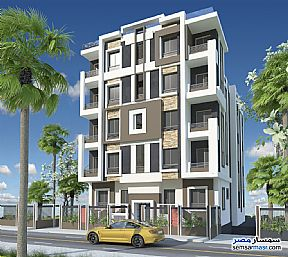 Ad Photo: Apartment 3 bedrooms 2 baths 135 sqm semi finished in October Gardens  6th of October