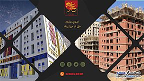 Ad Photo: Apartment 2 bedrooms 1 bath 88 sqm semi finished in Nasr City  Cairo