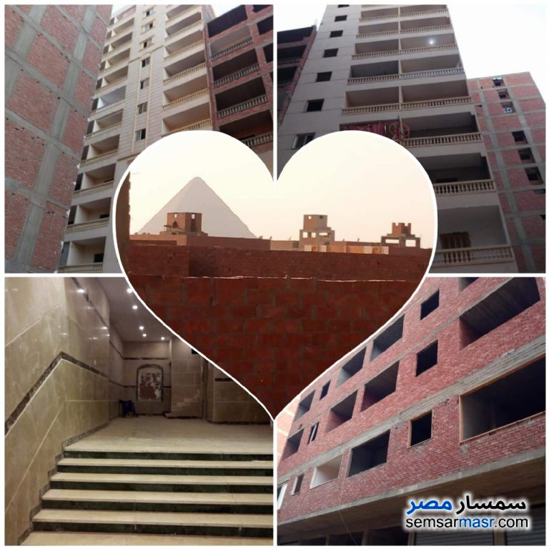 Photo 2 - Apartment 2 bedrooms 1 bath 90 sqm semi finished For Sale Haram Giza