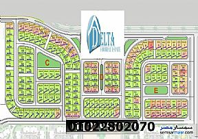 Ad Photo: Land 673 sqm in October Gardens  6th of October
