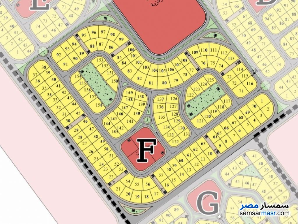 Photo 1 - Land 655 sqm For Sale North Extensions 6th of October