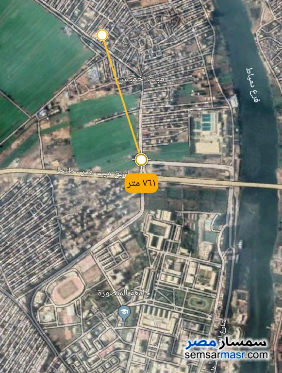 Photo 1 - Land 111 sqm For Sale Mansura Daqahliyah