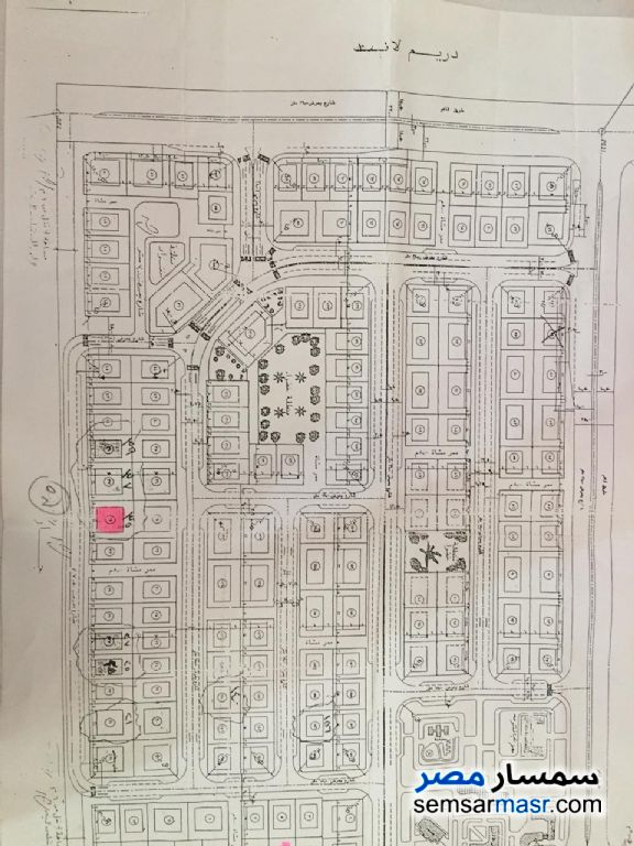 Ad Photo: Land 600 sqm in Dreamland  6th of October