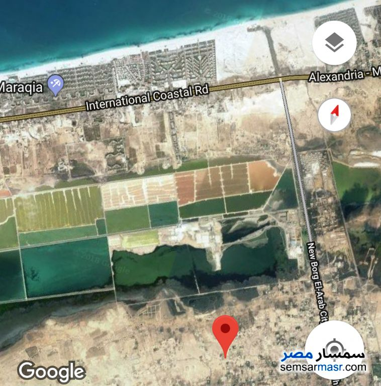 Photo 1 - Land 905 sqm For Sale Borg Al Arab Alexandira