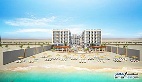 Ad Photo: Apartment 1 bedroom 1 bath 43 sqm super lux in Hurghada  Red Sea