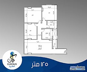 Ad Photo: Apartment 3 bedrooms 2 baths 125 sqm semi finished in Haram  Giza