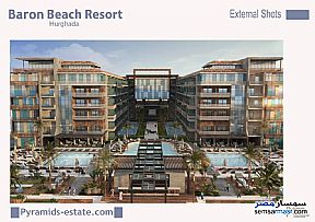 Ad Photo: Apartment 1 bedroom 1 bath 49 sqm extra super lux in Hurghada  Red Sea