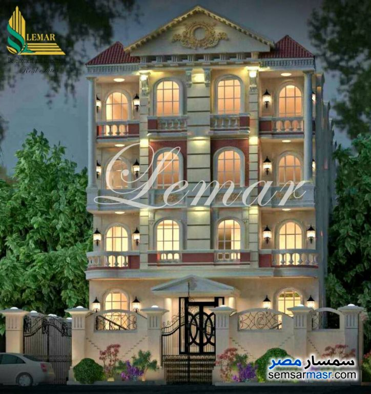 Ad Photo: Apartment 3 bedrooms 3 baths 410 sqm semi finished in Mukhabarat Land  6th of October