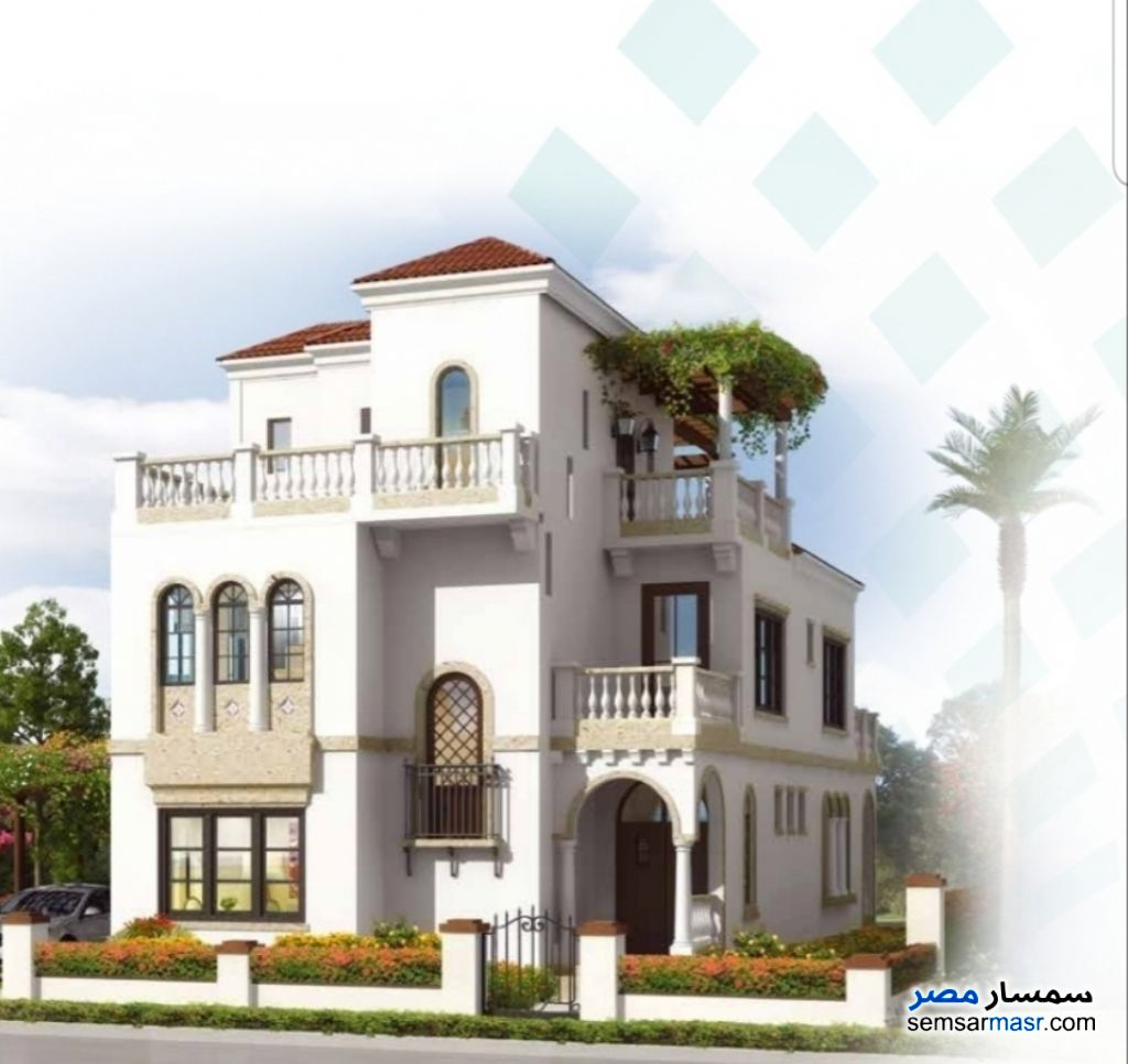 Photo 1 - Villa 4 bedrooms 4 baths 373 sqm extra super lux For Sale New Capital Cairo