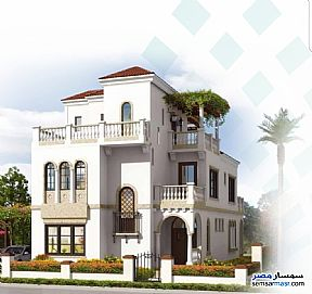 Ad Photo: Villa 4 bedrooms 4 baths 373 sqm extra super lux in New Capital  Cairo