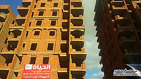 Ad Photo: Apartment 3 bedrooms 1 bath 145 sqm semi finished in 15 May City  Cairo