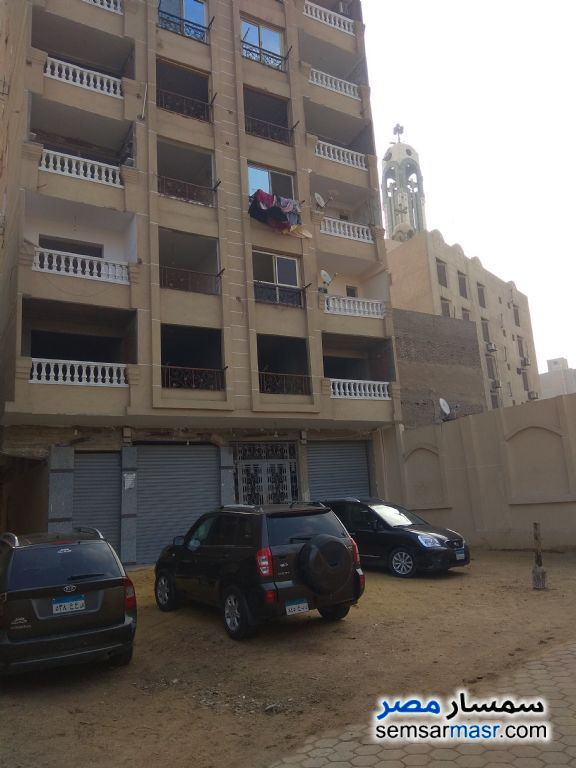 Photo 7 - Apartment 3 bedrooms 1 bath 110 sqm without finish For Sale Old Cairo Cairo