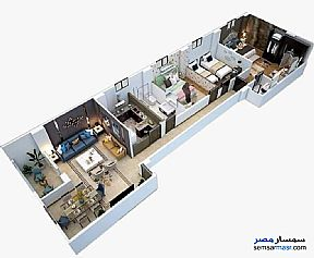 Apartment 3 bedrooms 2 baths 155 sqm semi finished For Sale Badr City Cairo - 4