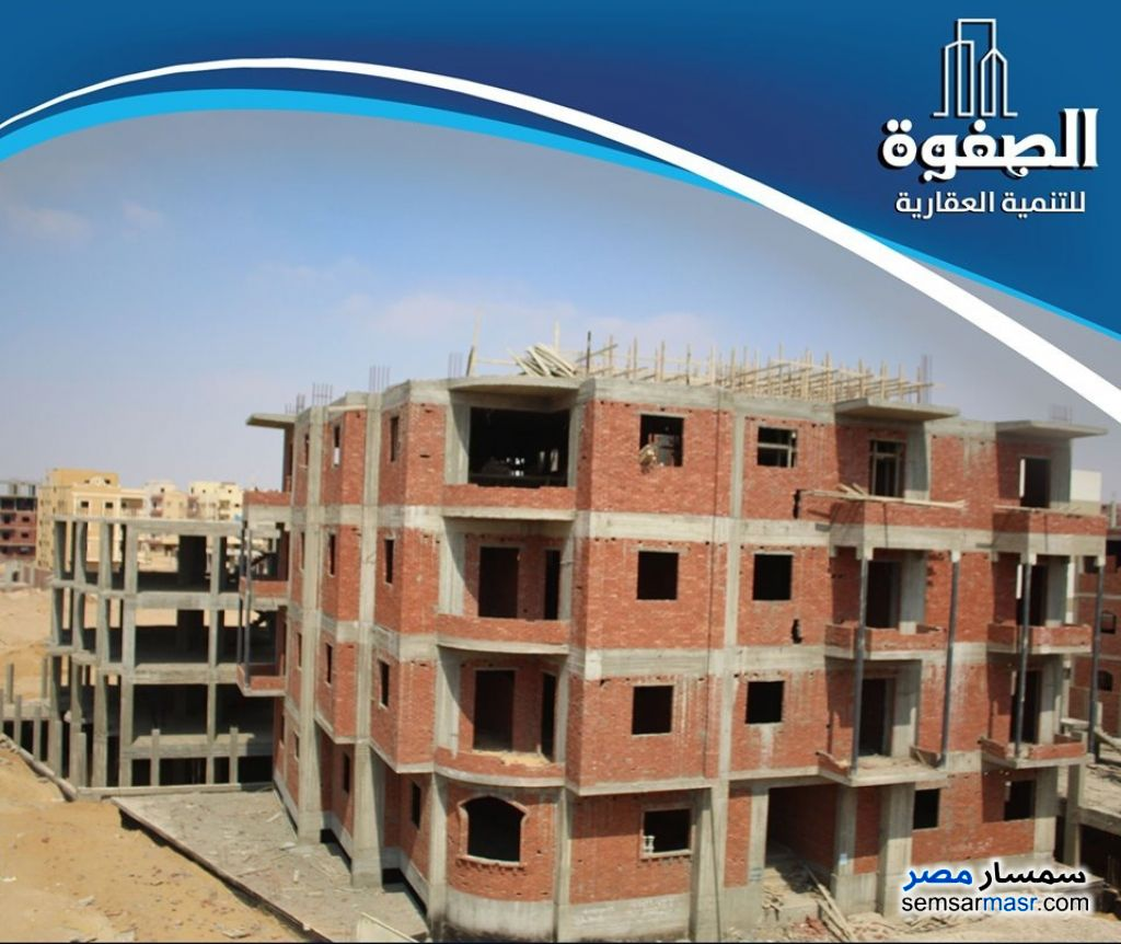 Photo 1 - Apartment 3 bedrooms 2 baths 160 sqm semi finished For Sale Badr City Cairo