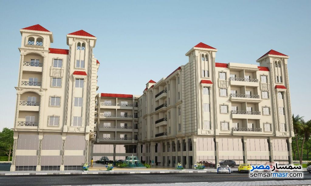 Photo 1 - Apartment 3 bedrooms 1 bath 124 sqm without finish For Sale Hurghada Red Sea