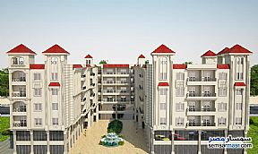 Apartment 3 bedrooms 1 bath 124 sqm without finish For Sale Hurghada Red Sea - 4