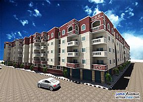 Ad Photo: Apartment 2 bedrooms 1 bath 75 sqm without finish in Hurghada  Red Sea