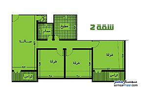 Ad Photo: Apartment 3 bedrooms 2 baths 160 sqm semi finished in Banha  Qalyubiyah