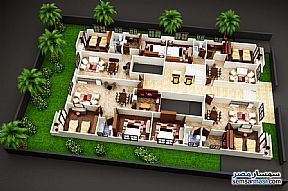 Ad Photo: Apartment 90 sqm in Mukhabarat Land  6th of October