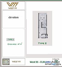 Commercial 47 sqm For Sale Shorouk City Cairo - 2