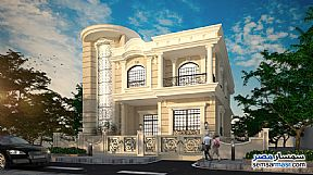 Ad Photo: Villa 5 bedrooms 5 baths 934 sqm semi finished in Mukhabarat Land  6th of October