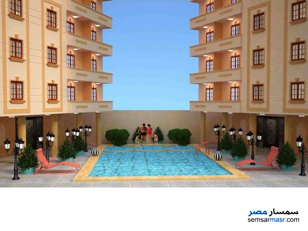 Photo 1 - Apartment 2 bedrooms 1 bath 85 sqm without finish For Sale Nakheel Alexandira
