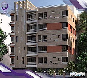 Ad Photo: Apartment 2 bedrooms 1 bath 110 sqm semi finished in Fifth Settlement  Cairo