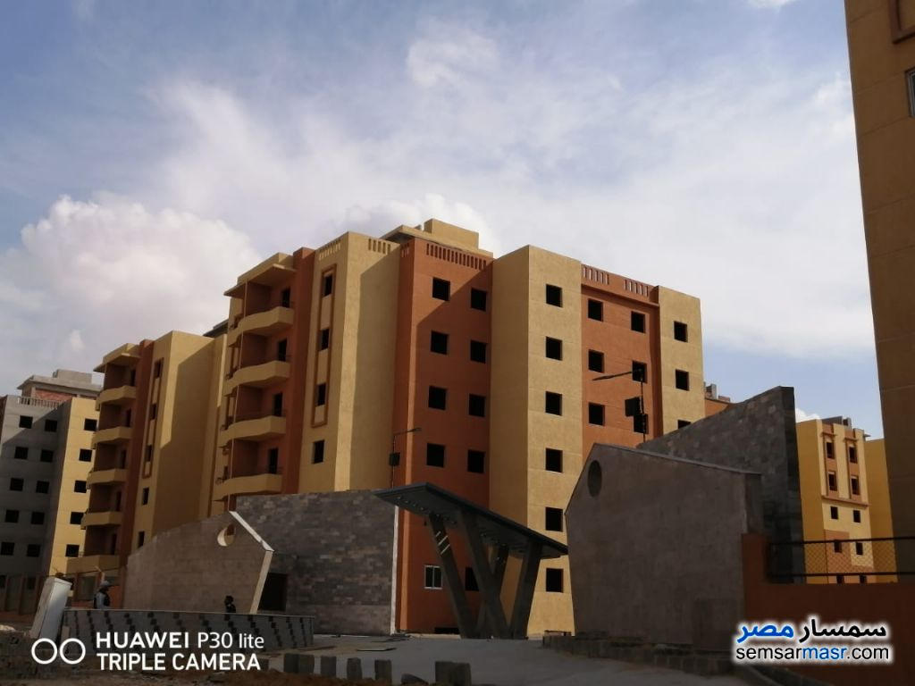 Photo 1 - Apartment 2 bedrooms 1 bath 75 sqm semi finished For Sale Badr City Cairo