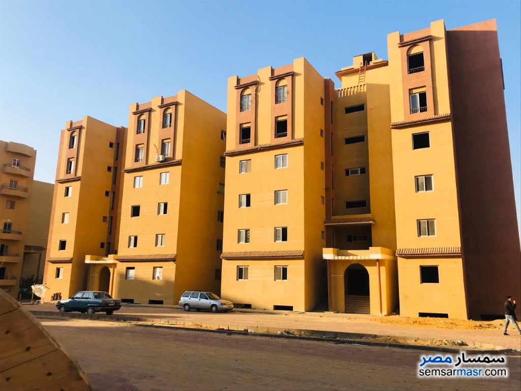 Photo 2 - Apartment 2 bedrooms 1 bath 75 sqm semi finished For Sale Badr City Cairo