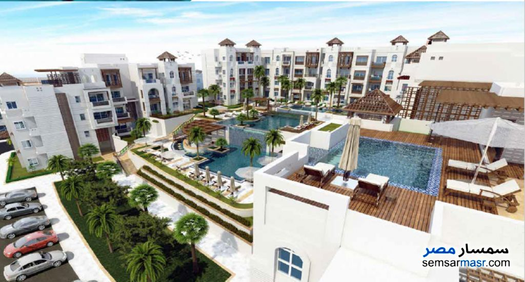 Photo 2 - Apartment 2 bedrooms 1 bath 82 sqm super lux For Sale Hurghada Red Sea