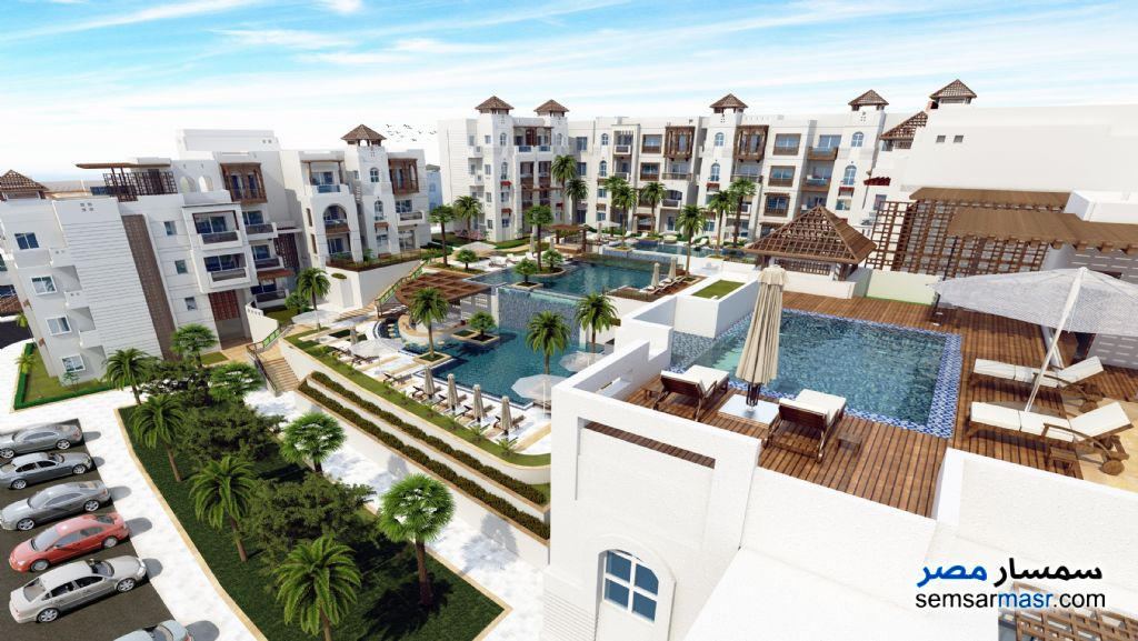 Photo 7 - Apartment 2 bedrooms 1 bath 82 sqm super lux For Sale Hurghada Red Sea