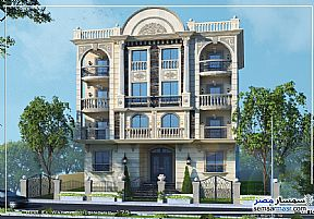 Ad Photo: Apartment 3 bedrooms 2 baths 150 sqm semi finished in 6th of October