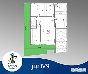 Ad Photo: Apartment 3 bedrooms 2 baths 179 sqm semi finished in Hadayek Al Ahram  Giza