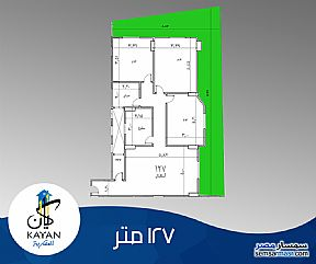 Ad Photo: Apartment 3 bedrooms 2 baths 127 sqm super lux in Giza District  Giza