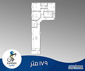 Ad Photo: Apartment 3 bedrooms 3 baths 179 sqm semi finished in Hadayek Al Ahram  Giza