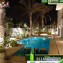 Villa 7 bedrooms 7 baths 550 sqm extra super lux For Sale Rehab City Cairo - 1