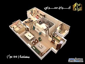 Ad Photo: Apartment 3 bedrooms 1 bath 155 sqm semi finished in Minya City  Minya