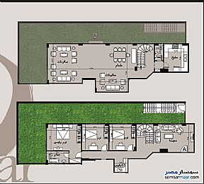 Ad Photo: Apartment 3 bedrooms 2 baths 279 sqm semi finished in Shorouk City  Cairo
