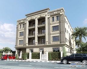 Ad Photo: Apartment 3 bedrooms 3 baths 274 sqm semi finished in Shorouk City  Cairo